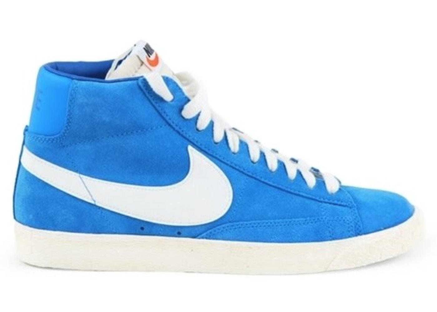 timeless design e2ffa 15efb ... High Suede VNTG - Italy Blue Varsity Royal-Gym Dark Blue  Nike SB Blazer  Suede Italy Blue . ...