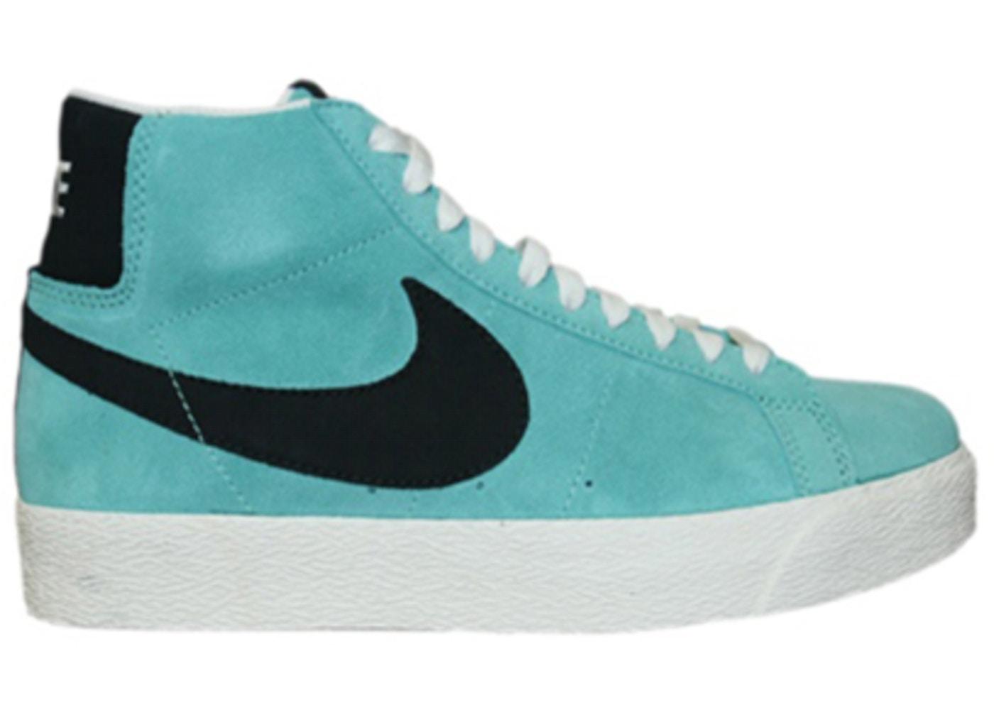 brand new bda60 88150 Nike SB Blazer Tiffany Azure