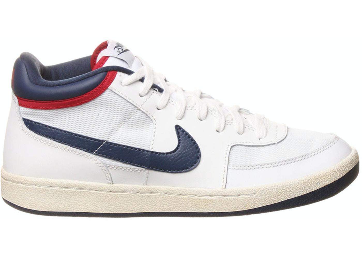 estilo clásico comprar online Calidad superior Nike Challenge Court Mid VNTG Summit White - 519106-160