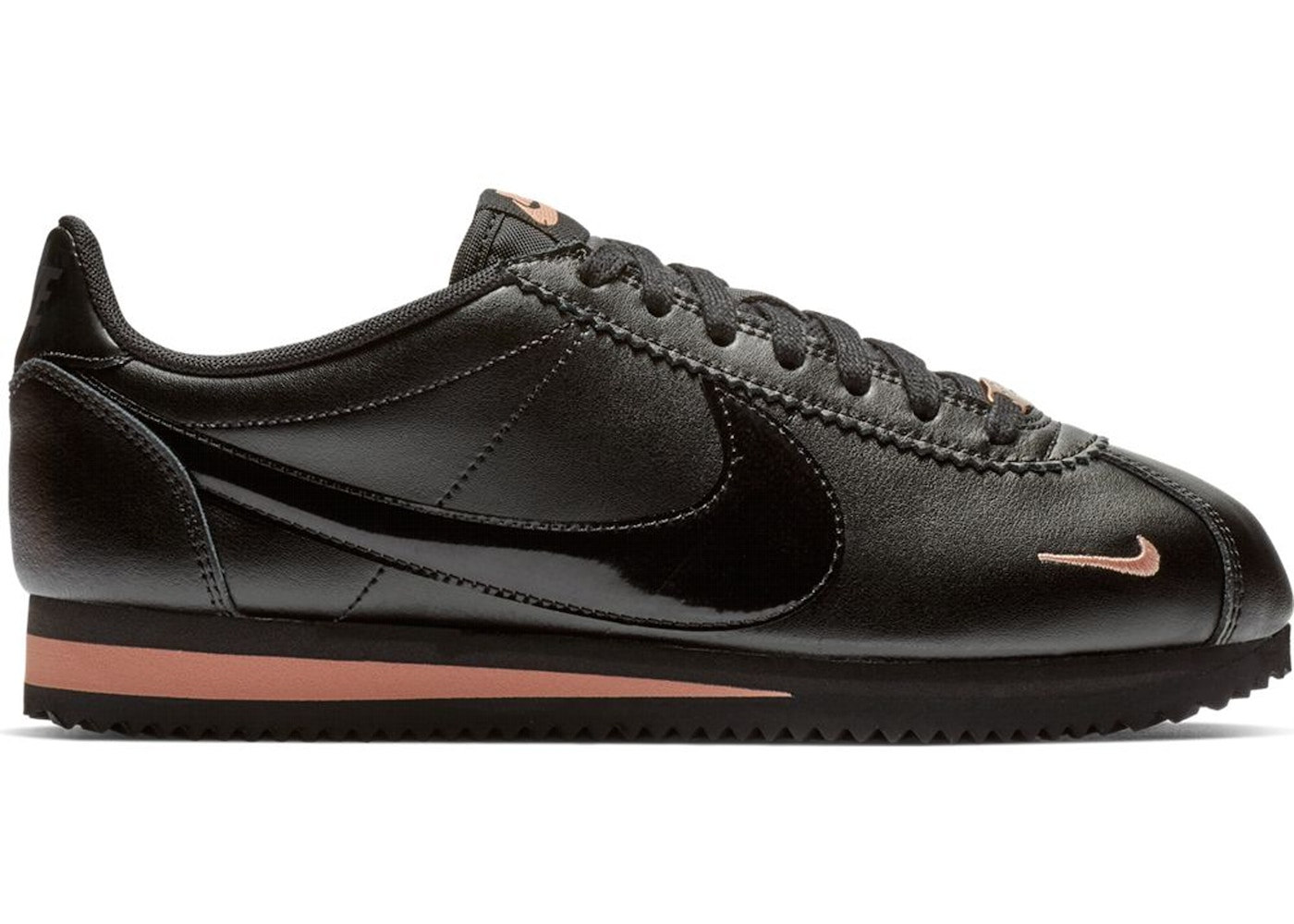 pretty nice a2476 11323 Sell. or Ask. Size: 10.5W. View All Bids. Nike Classic Cortez Black Rose  Gold ...