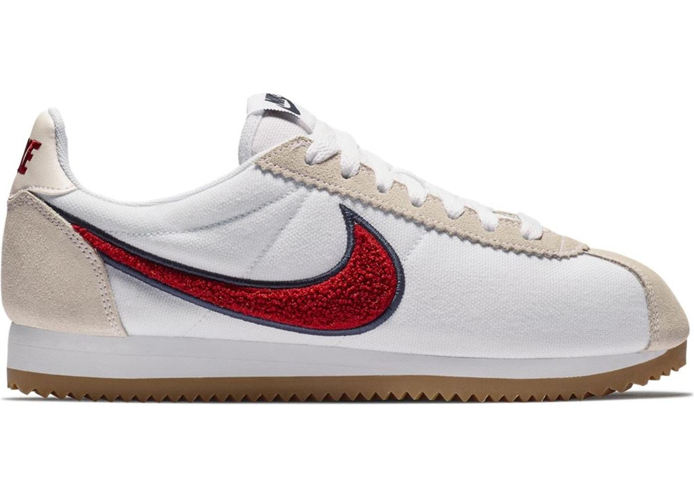 online store 43df3 d184e Nike Classic Cortez Chenille Swoosh Red Crush (W) - 905614-103