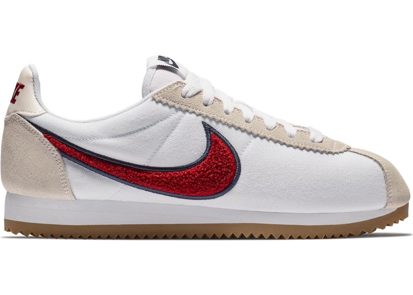 wholesale dealer 72ac0 b99b1 Nike Classic Cortez Chenille Swoosh Red Crush (W)