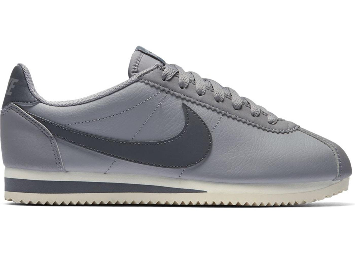 e41e5b8930 Nike Classic Cortez Leather Atmosphere Grey (W) - 807471-017