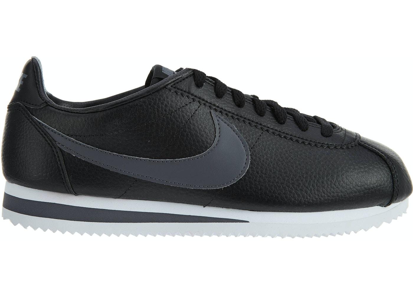 new arrival 492c9 82555 Nike Classic Cortez Leather BlackDark Grey-White