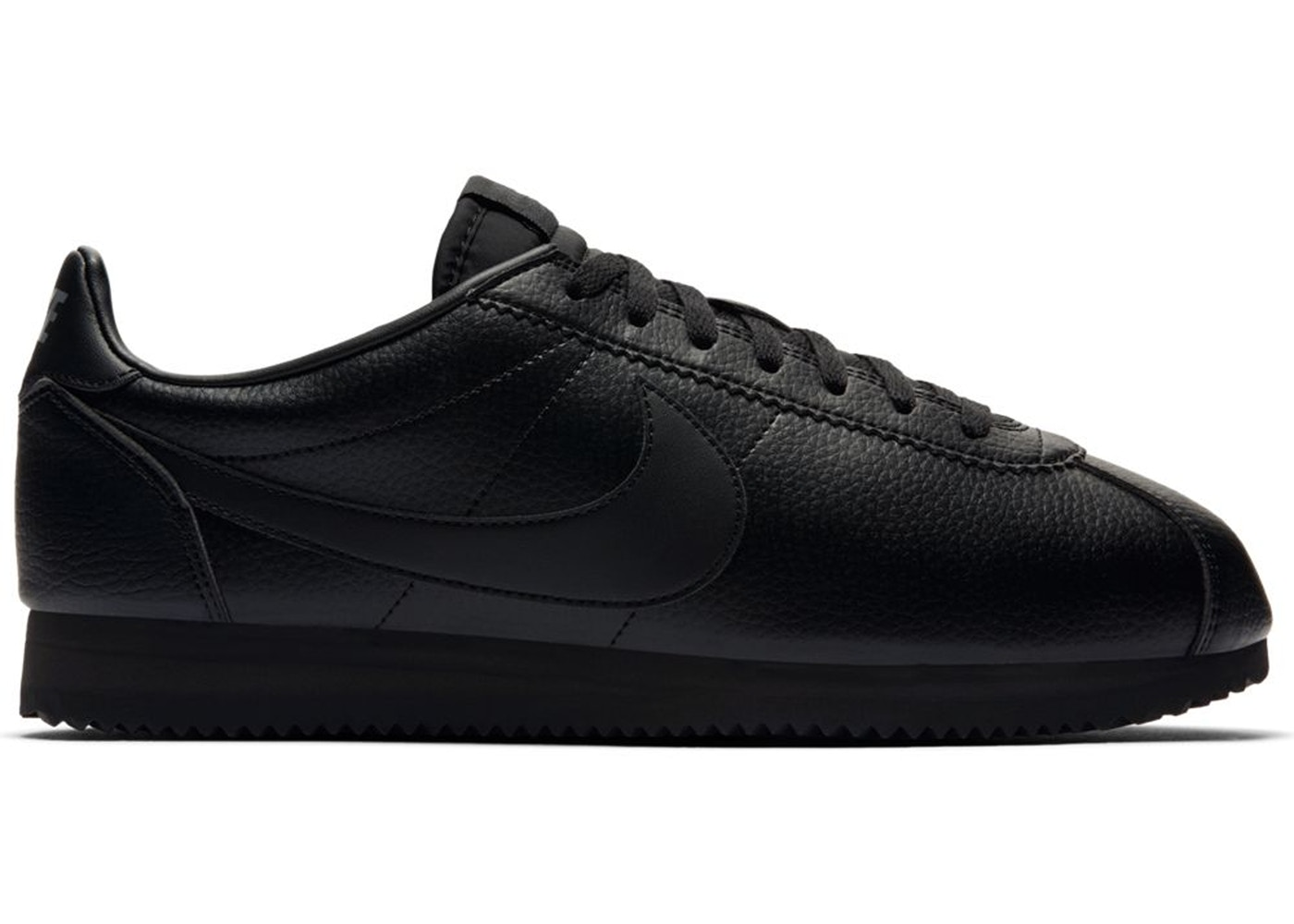 new cheap top quality huge selection of Nike Classic Cortez Leather Triple Black