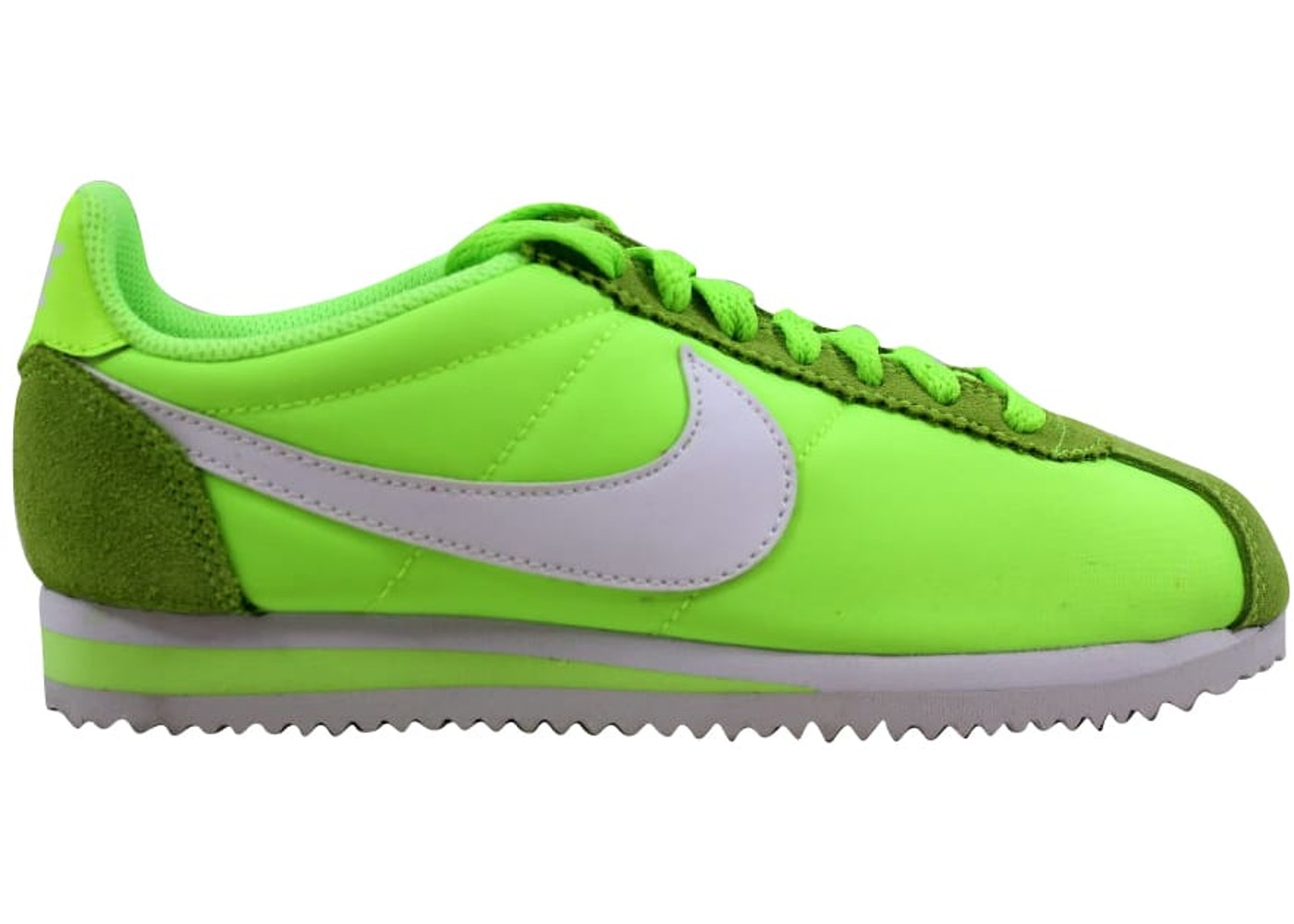 sale retailer 2f059 adef3 Nike Classic Cortez Nylon Ghost Green White (W) - 749864-310