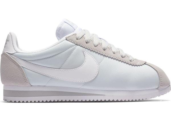 546e79df Nike Classic Cortez Nylon Pure Platinum (W)