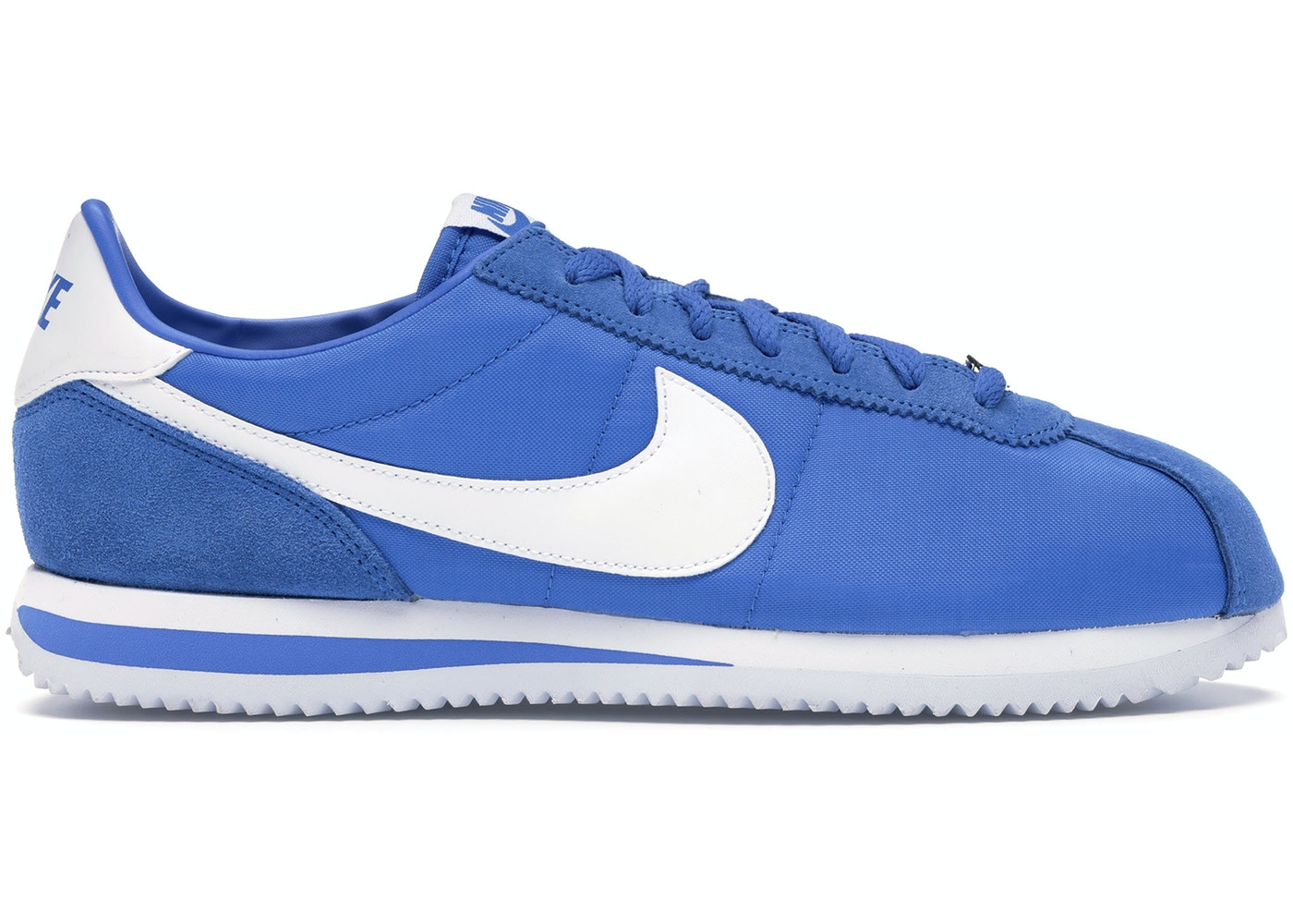Melodramático desempleo encima  Nike Classic Cortez Nylon Signal Blue - 819720-402