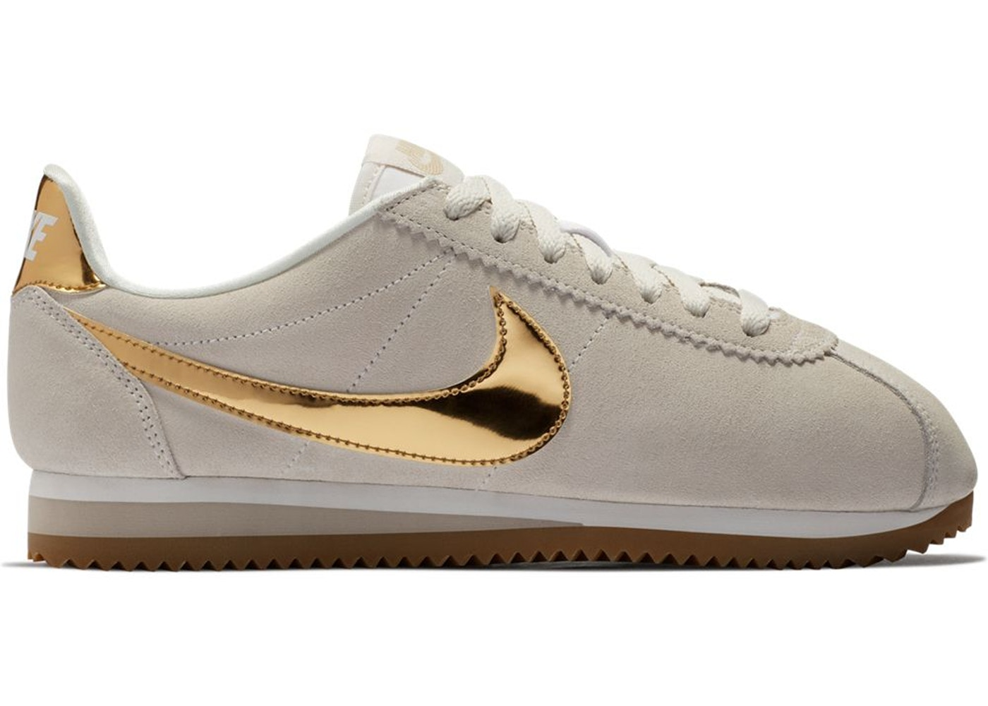 low priced 4d295 3cd0c Nike Classic Cortez Phantom Metallic Gold (W)
