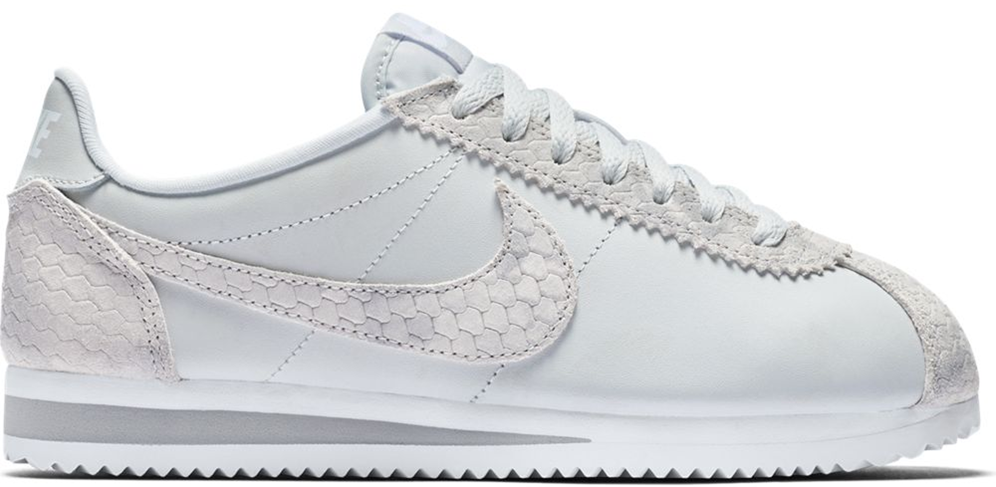 Nike Classic Cortez Pure Platinum Snake