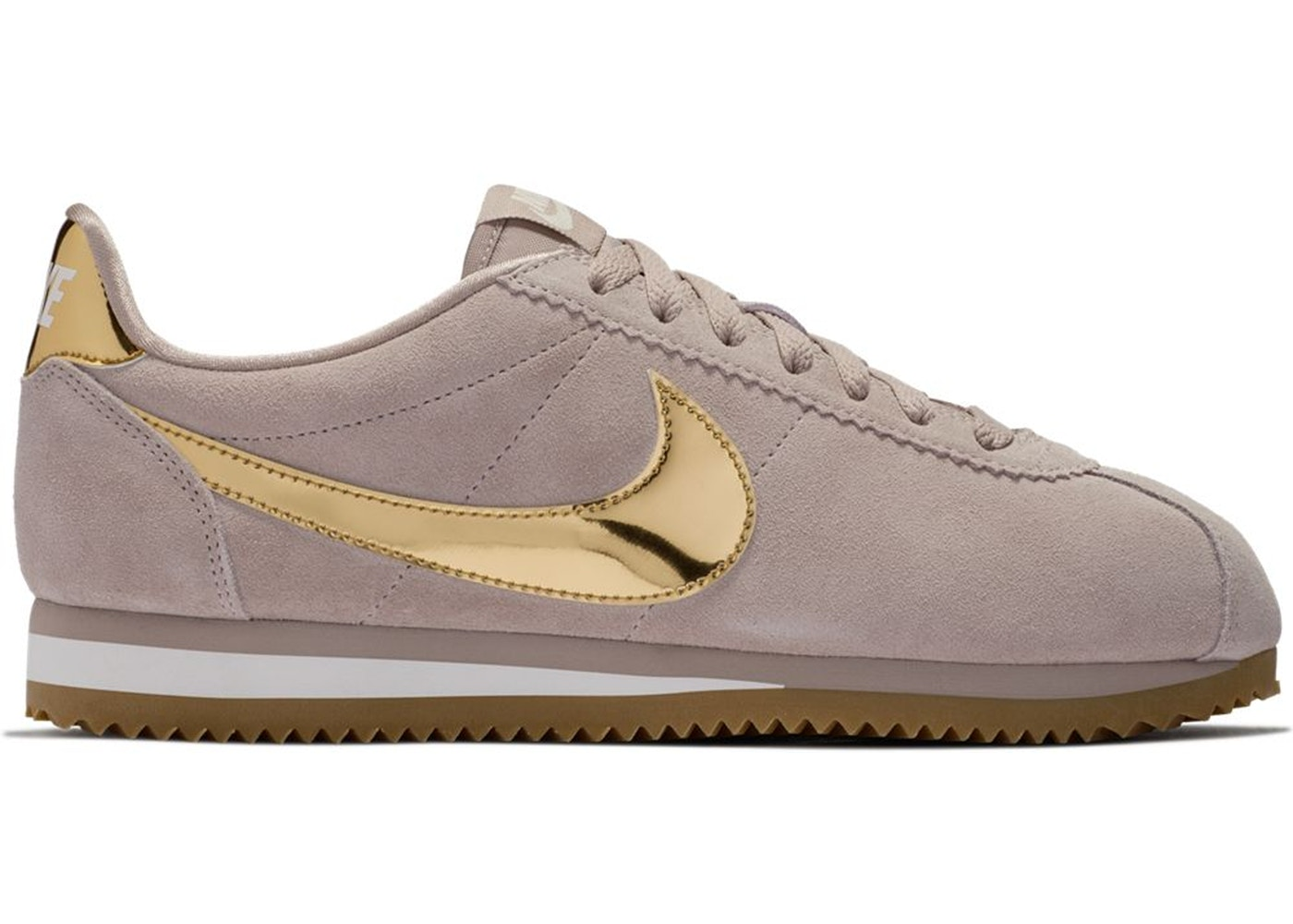 premium selection ca6d6 cd1c1 Sell. or Ask. Size  5.5W. View All Bids. Nike Classic Cortez SE Diffused  Taupe Metallic Gold ...