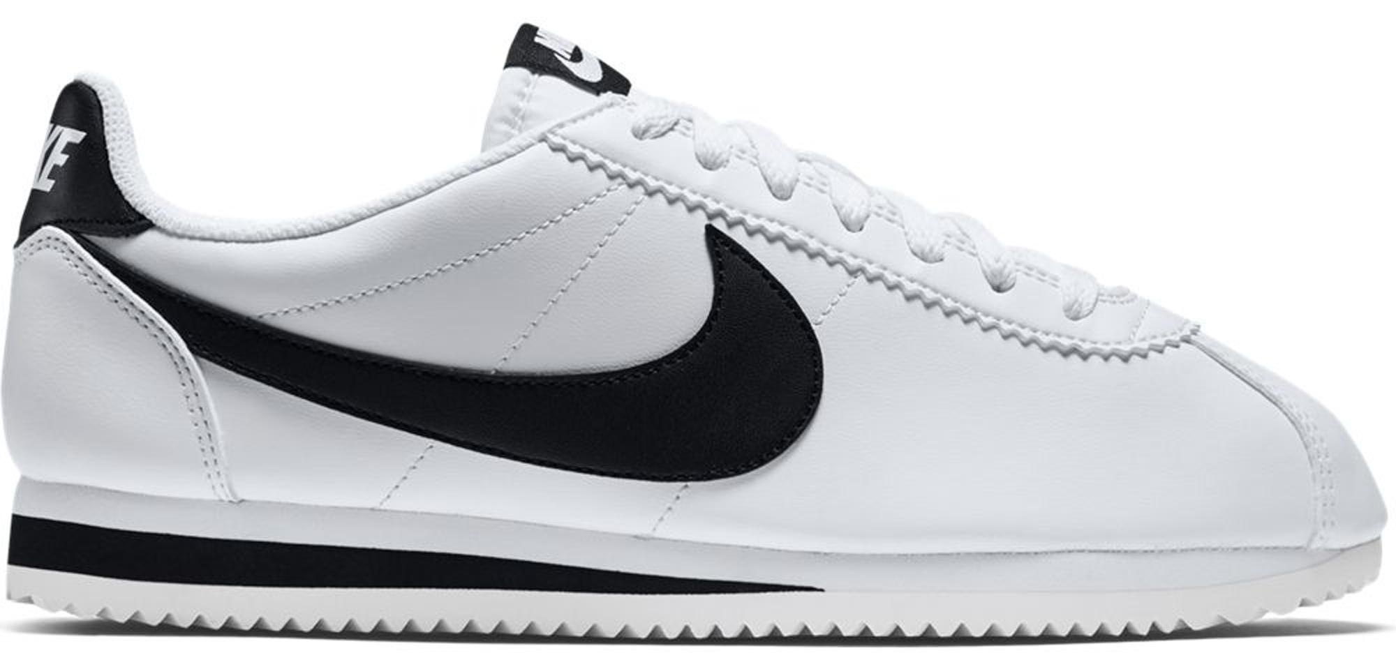 Nike Classic Cortez White Black (W