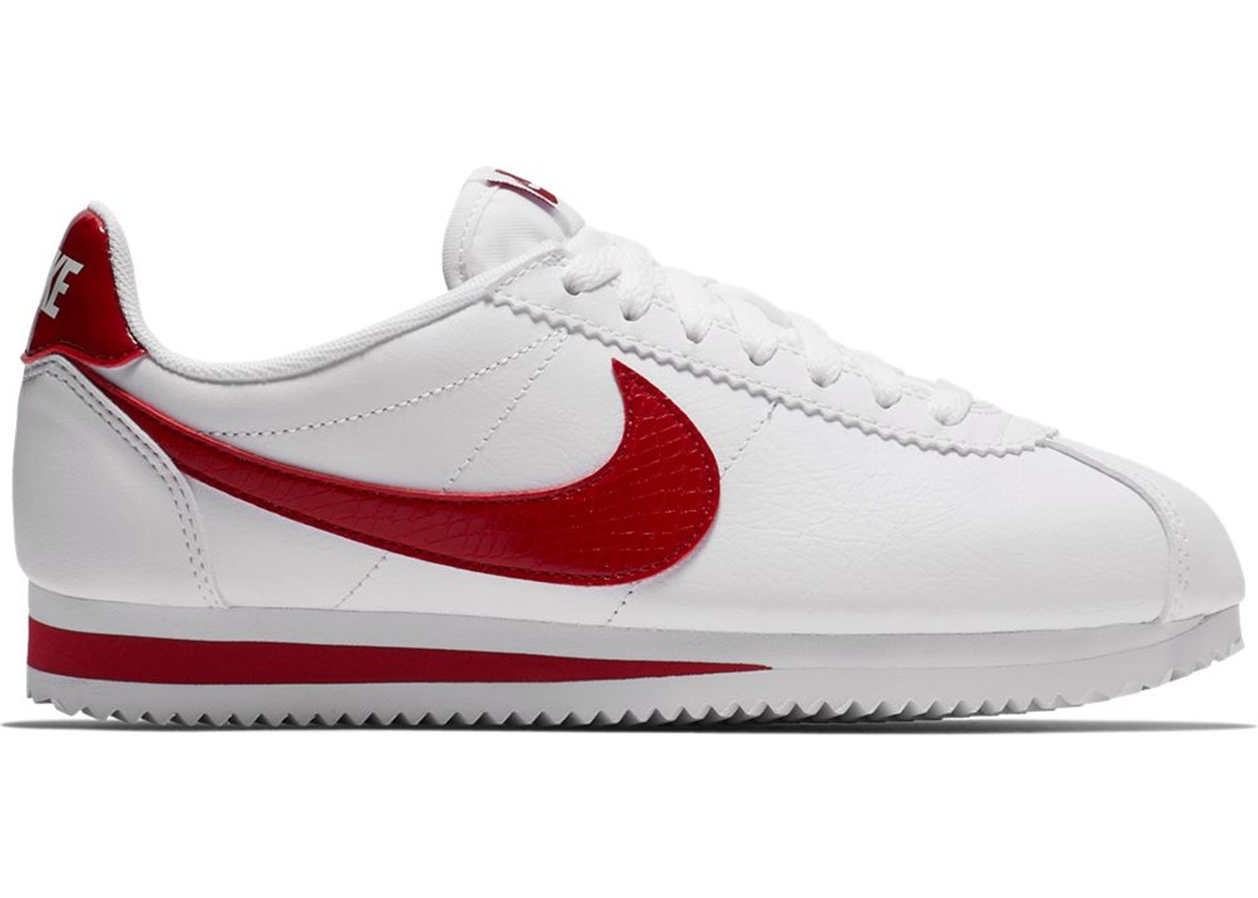 new style 2725b ddf80 Nike Classic Cortez White Red Crush (W) - 807471-108