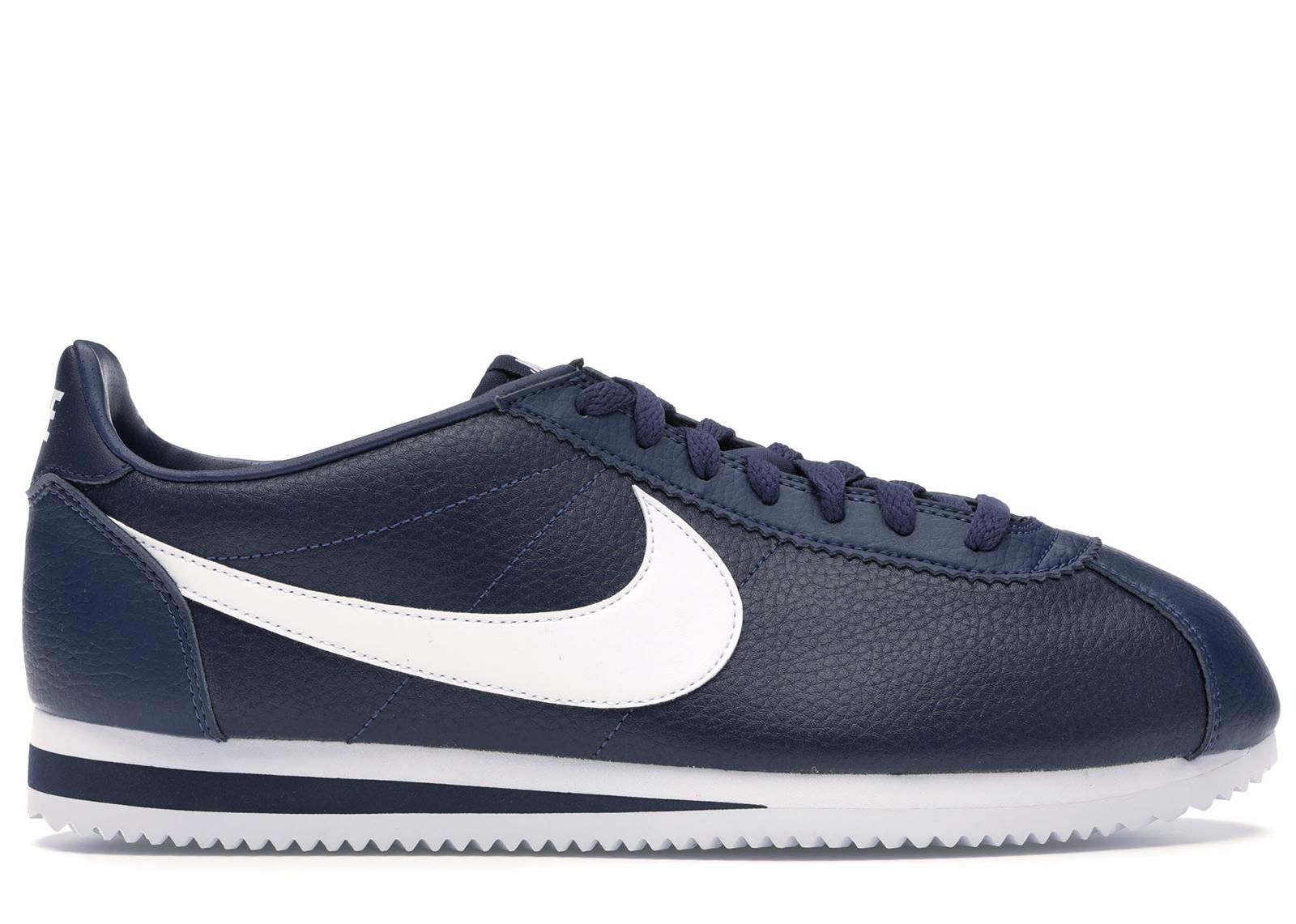 Nike Classics Cortez Leather Midnight Navy White