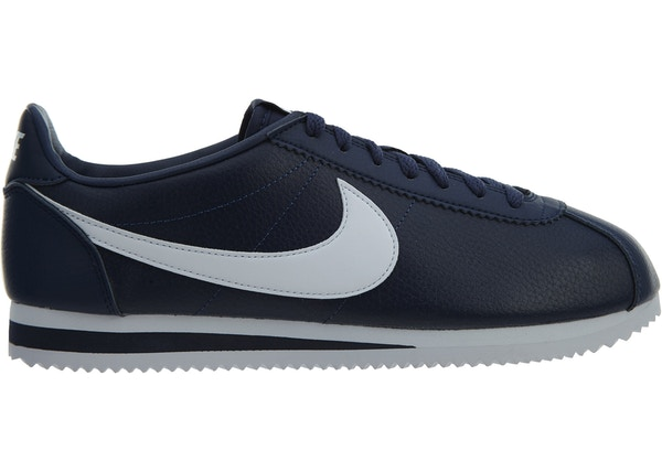 new products 680c1 0a06a Nike Classics Cortez Leather Midnight Navy White
