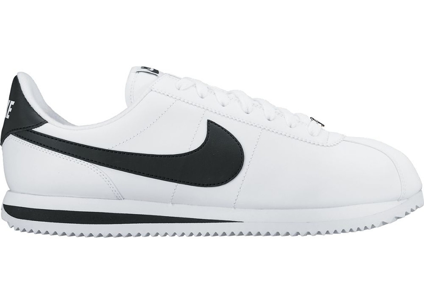 Shoptagr   Nike Cortez Basic Leather White Black (2017) by