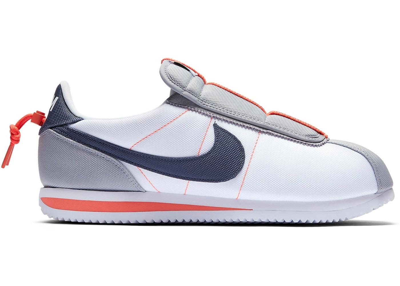 online retailer 9dffc 0bfdb Nike Cortez Basic Slip Kendrick Lamar White