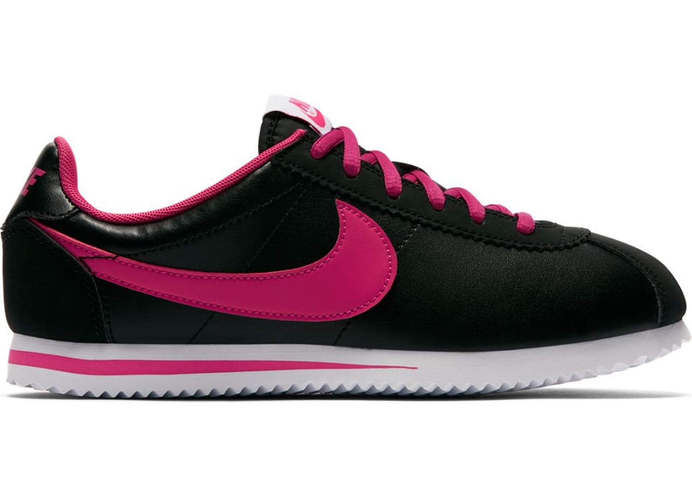 Sell. or Ask. Size --. View All Bids. Nike Cortez Black Vivid Pink (GS) b10beec26