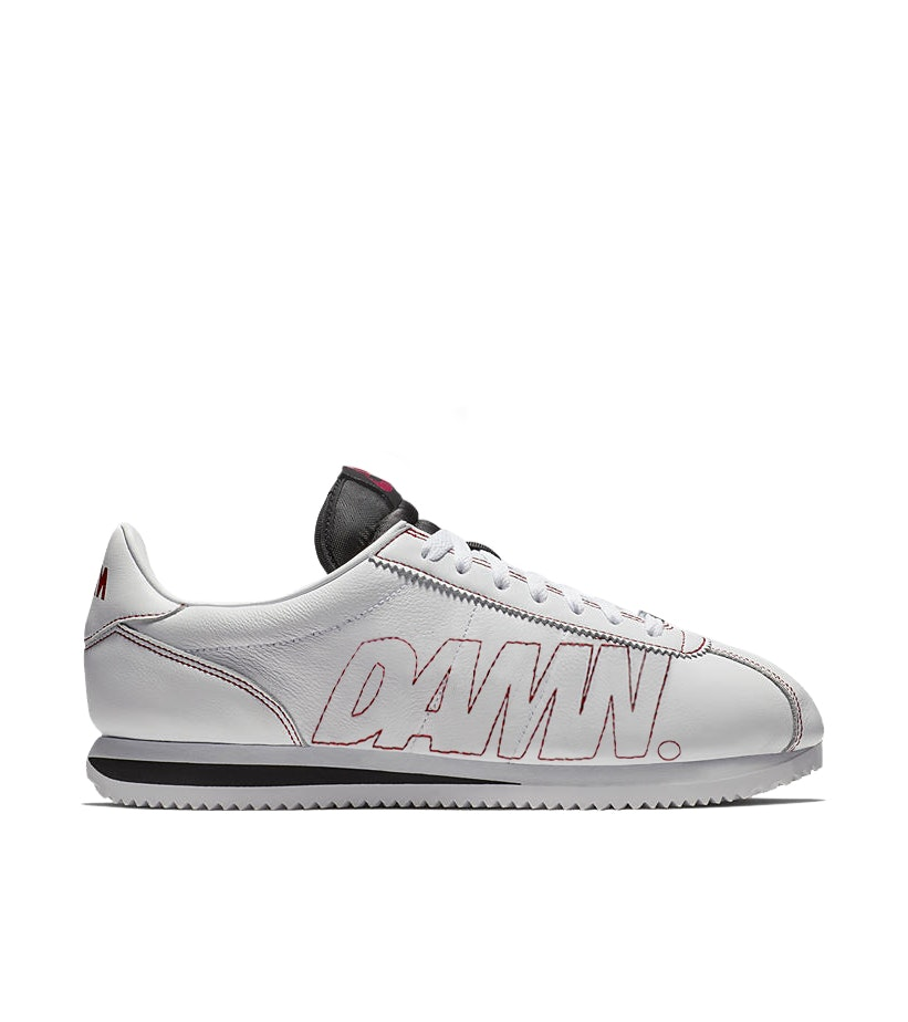 Nike Cortez Kenny 1 Kendrick Lamar Damn White Gym Red