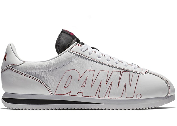3db00f93 Nike Cortez Kenny 1 Kendrick Lamar Damn White Gym Red - AV8255-106
