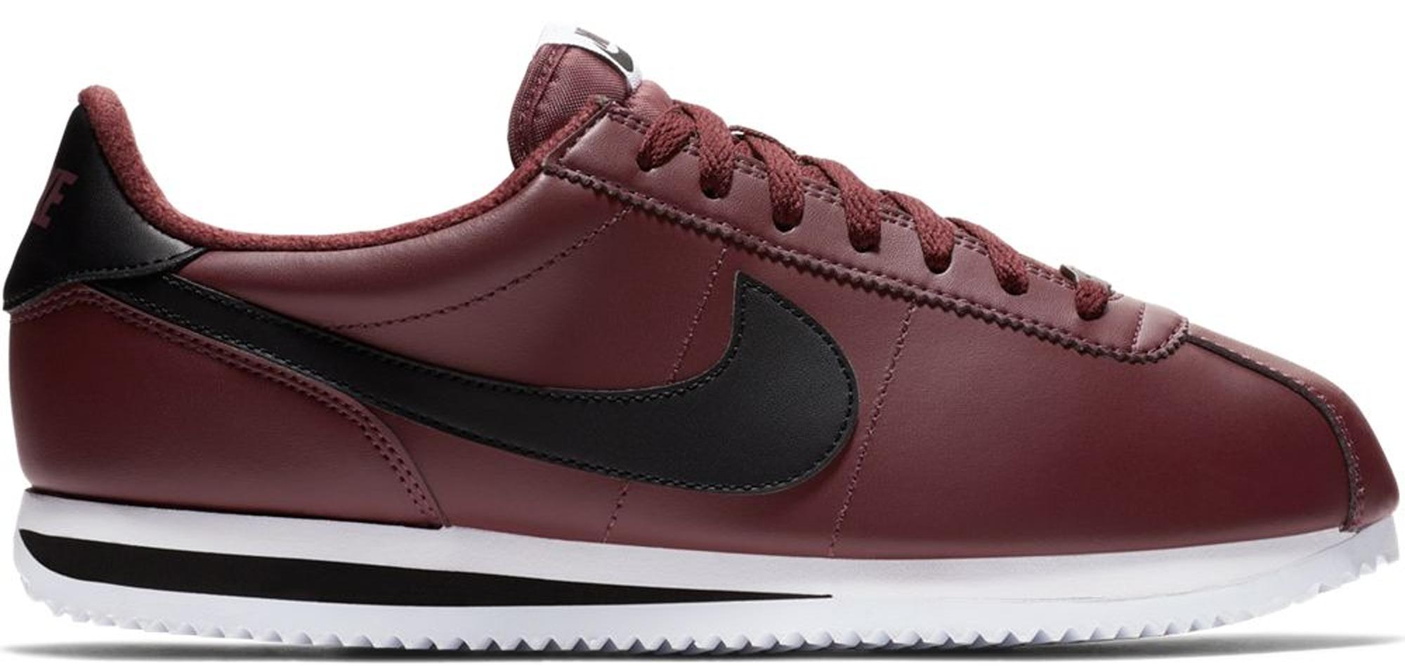 Nike Cortez Leather Burgundy Crush