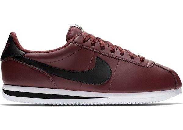 Nike Cortez Leather Burgundy Crush - 819719-600