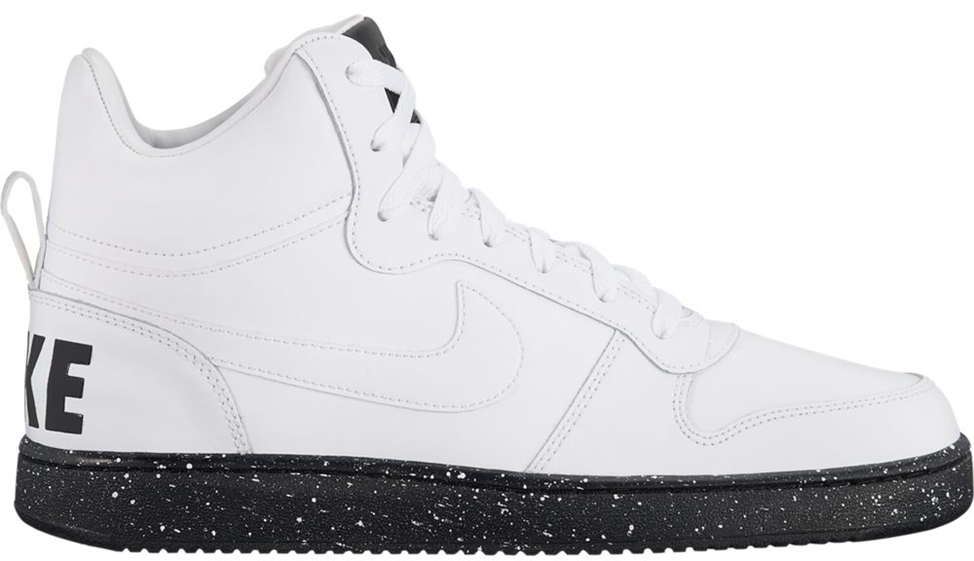 Nike Court Borough Mid White Black Speckled Sole
