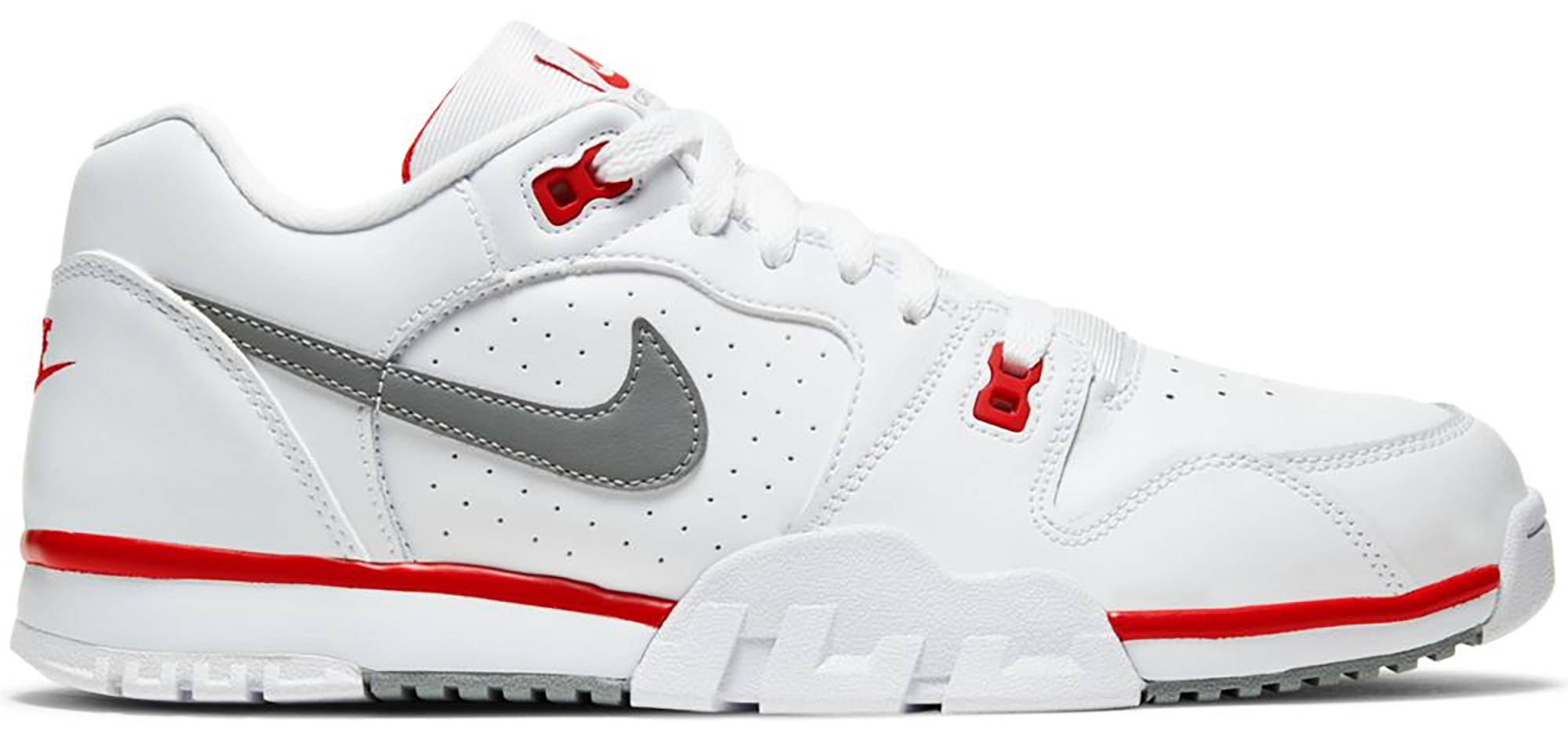 Nike Cross Trainer Low White Red Grey