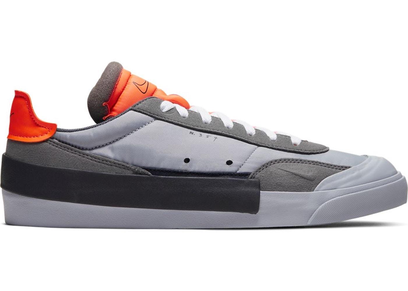 Nike Drop Type Lx Wolf Grey Total Orange