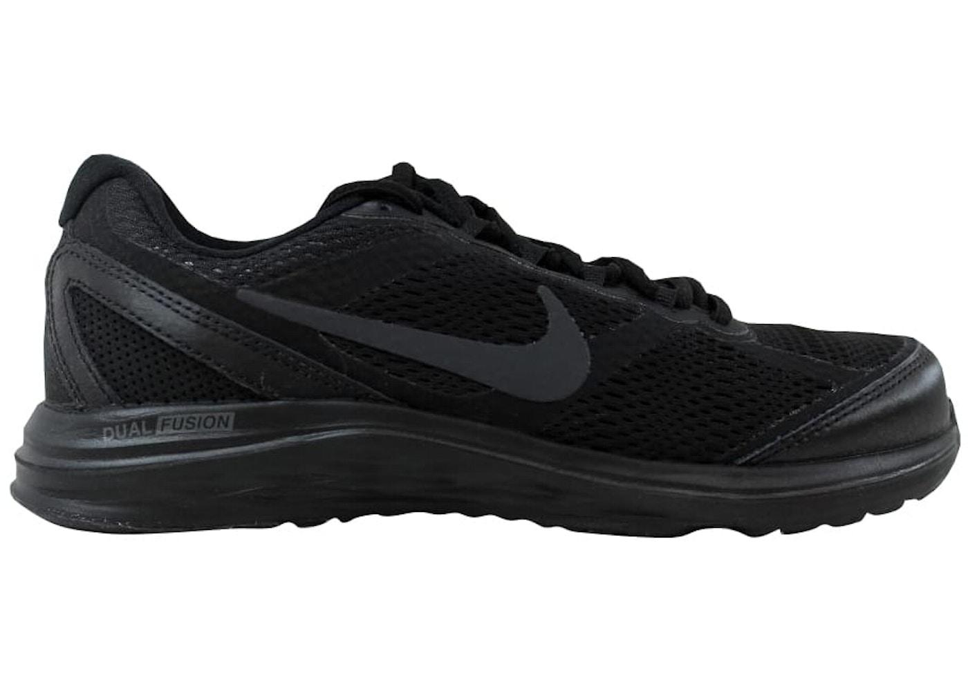 acheter en ligne 2447b 0eb32 Nike Dual Fusion Run 3 Black/Black-Anthracite (W)