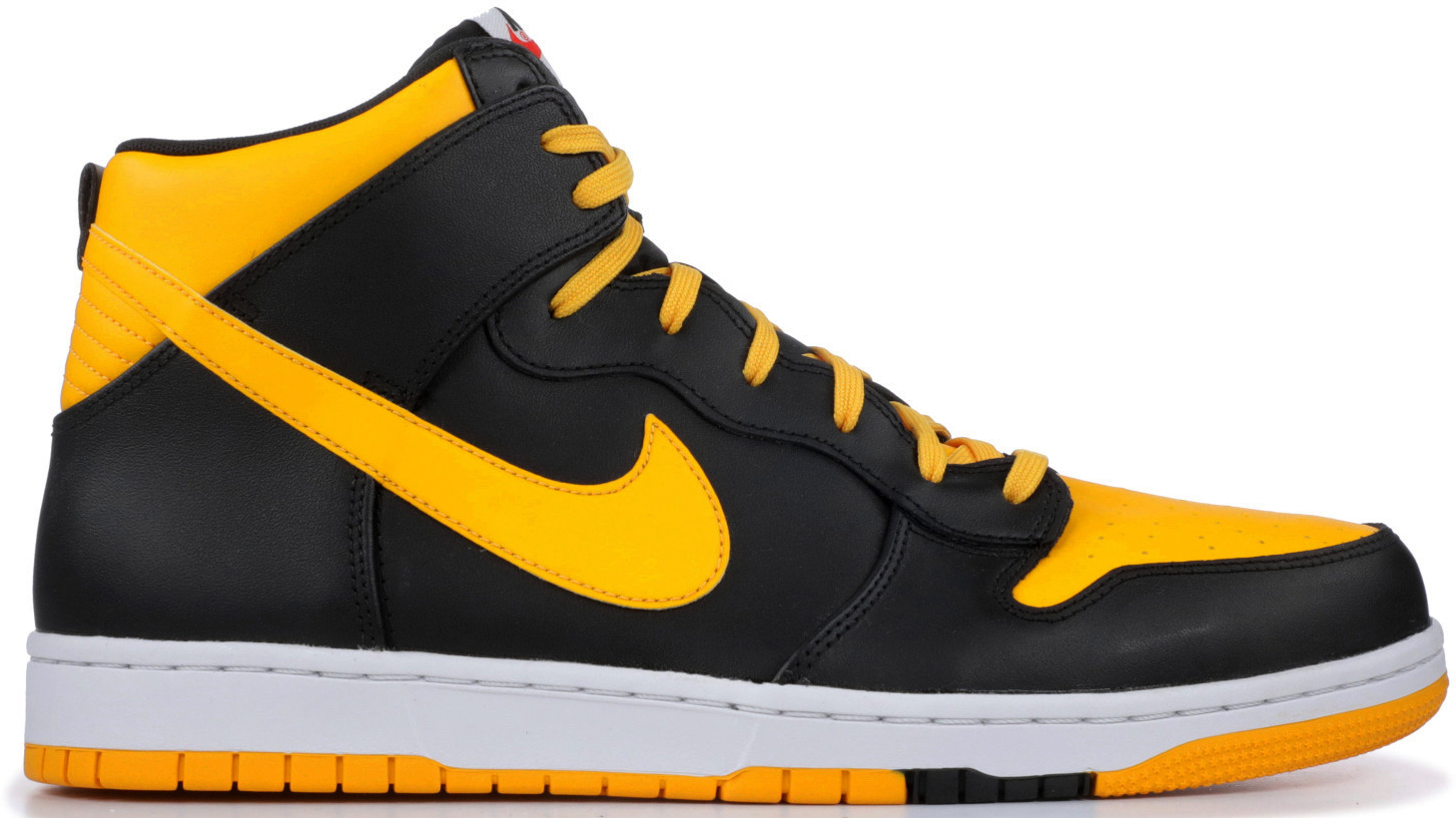 nike dunks gold and black
