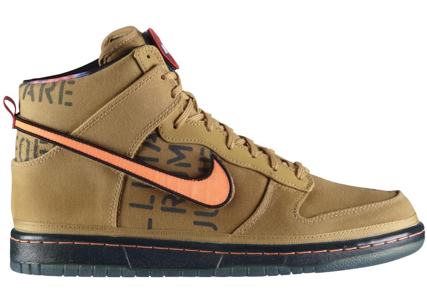 size 40 54363 65a77 Nike Dunk High All Star Galaxy Gold