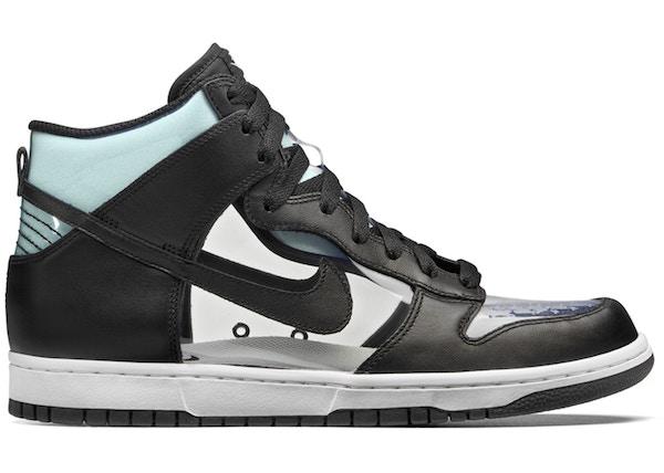 wholesale dealer 54b78 55d45 Nike Dunk High Comme Des Garcons Clear - 917428-001