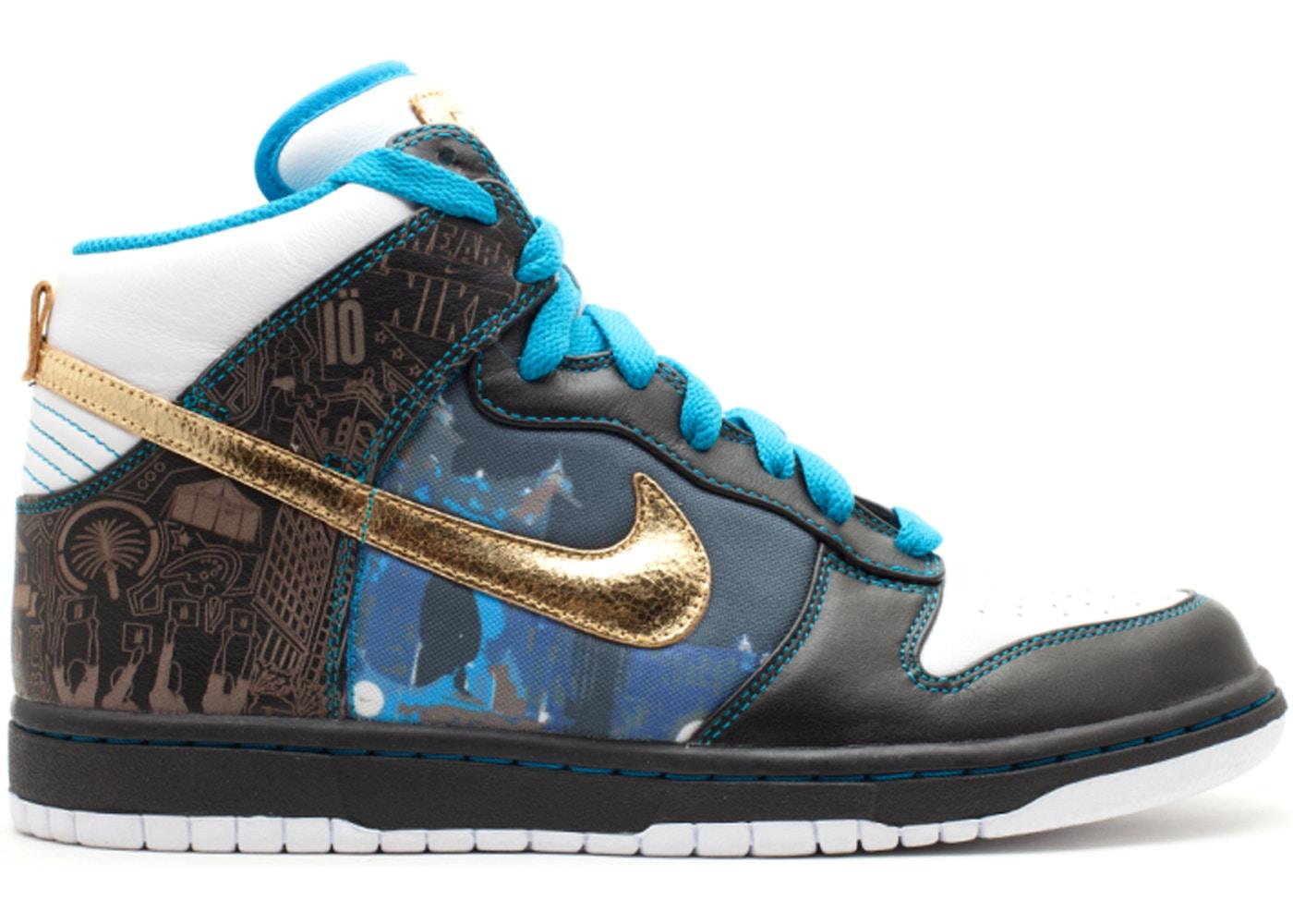 e1cb363b Nike Dunk High Dubai - 393427-071