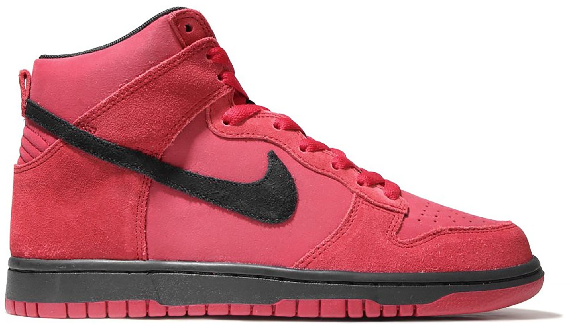 Nike Dunk High Gym Red Black - 904233-600