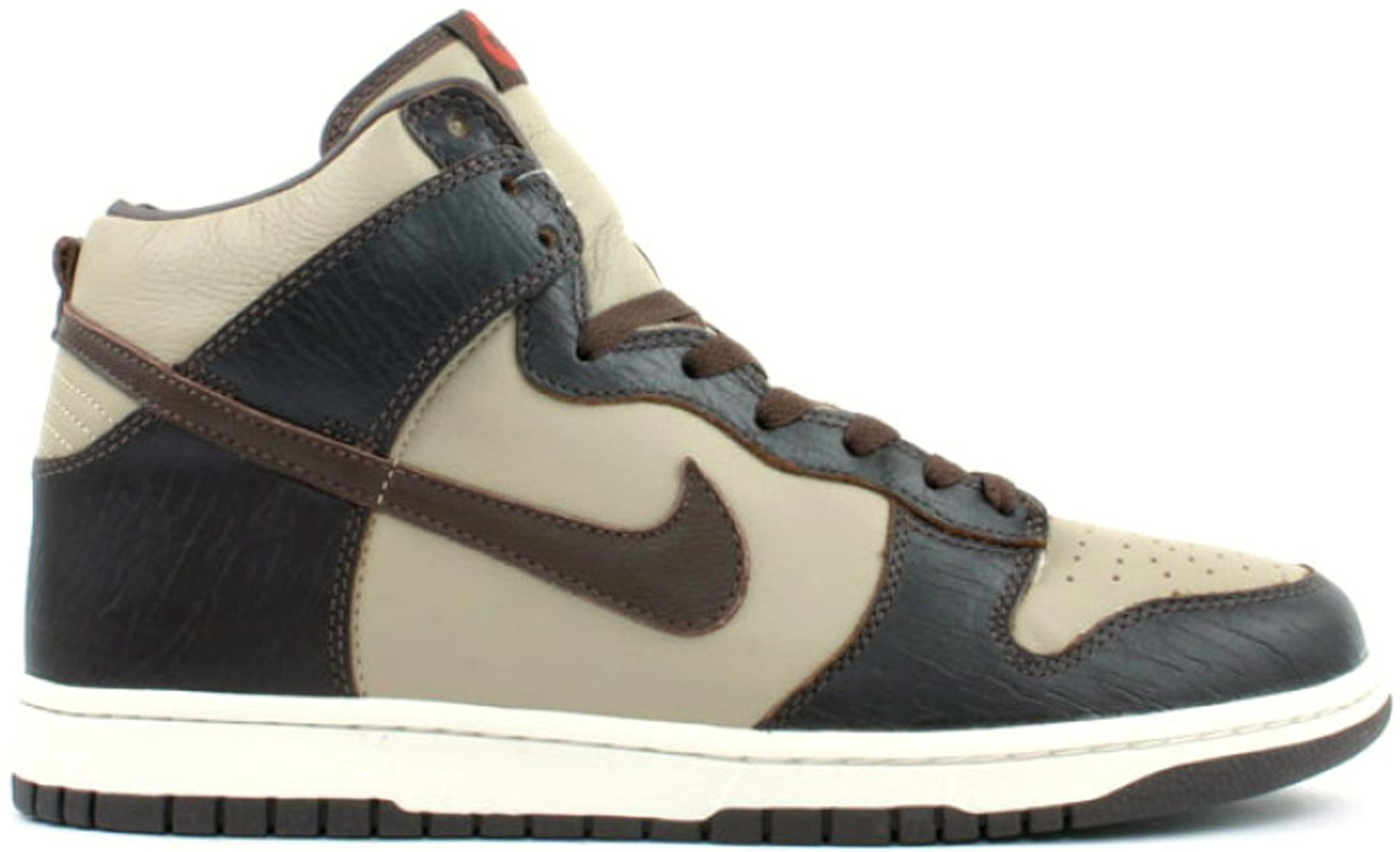 Nike Dunk High Khaki Baroque Brown
