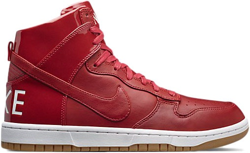 Nike Dunk High Lux Gym Red