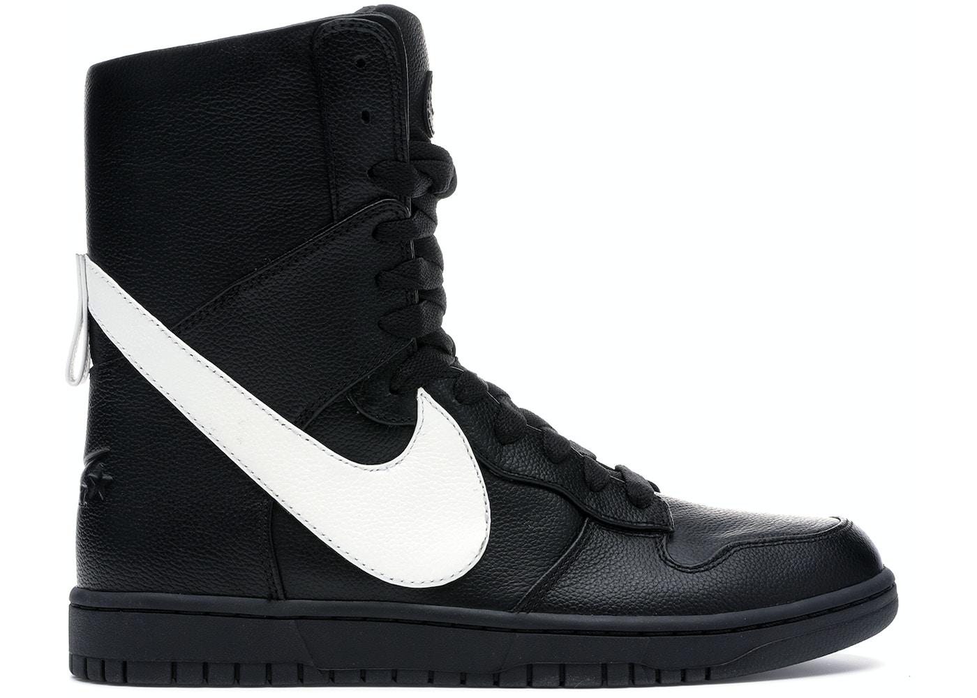 separation shoes 48b5e ef106 Nike Dunk High Lux Tisci Black