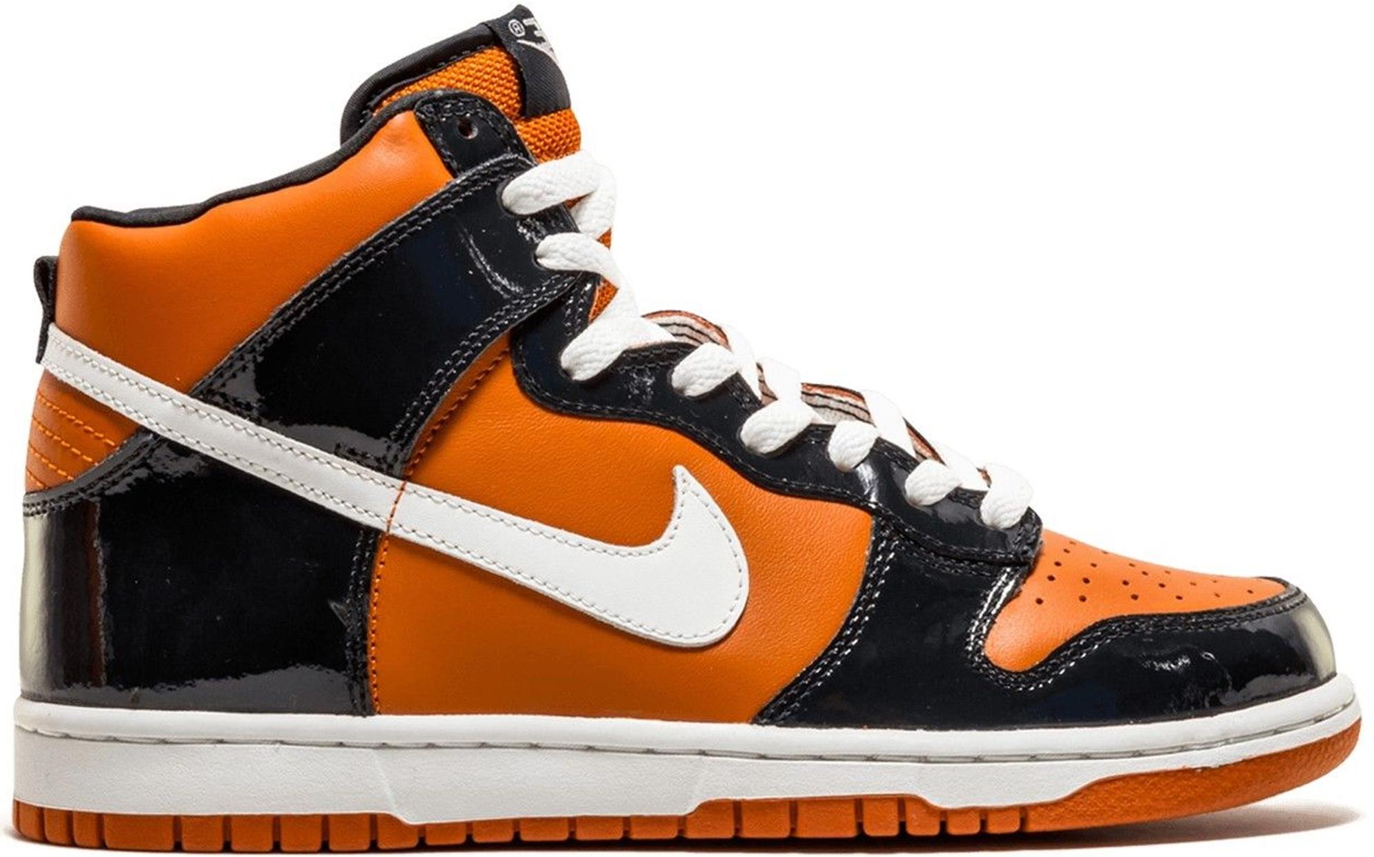 Nike Dunk High Mesa Orange