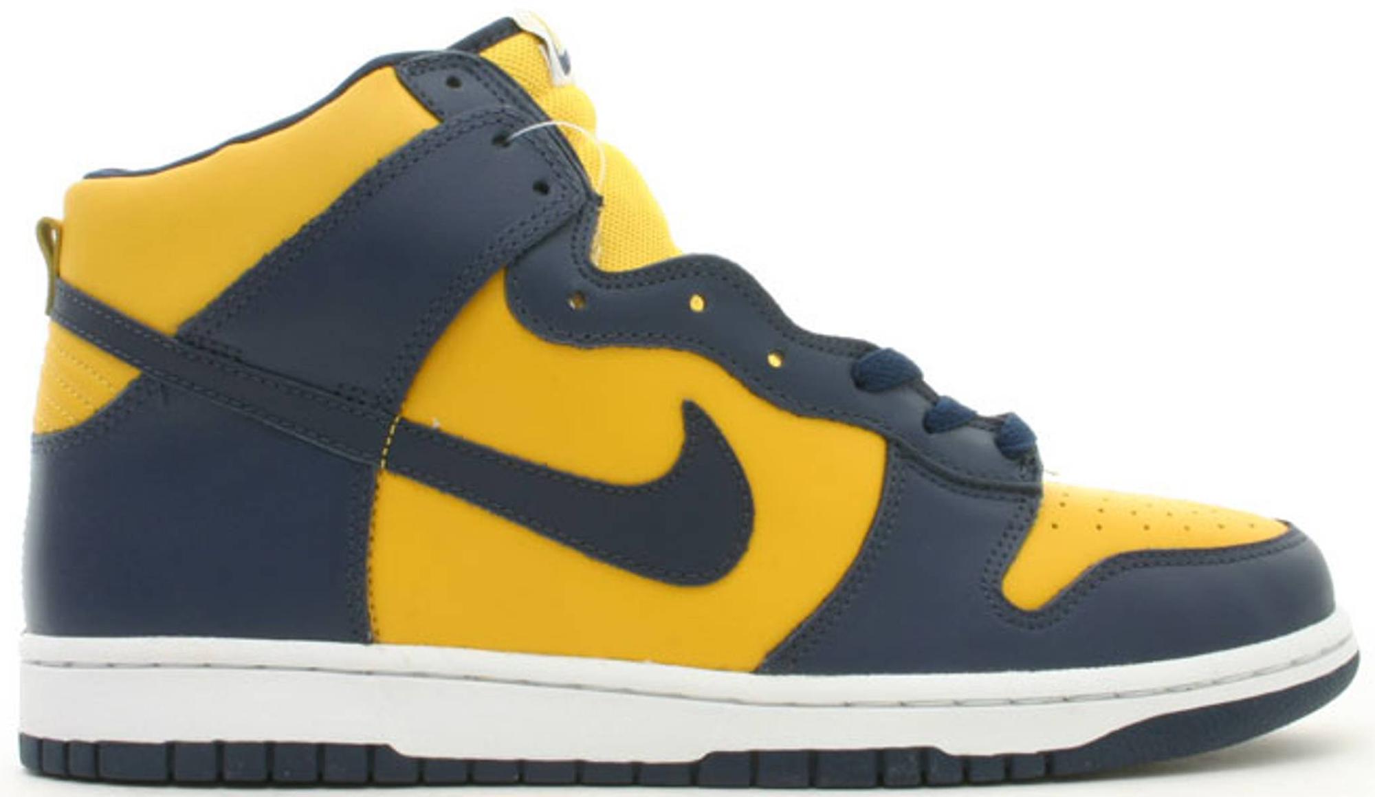 Nike Dunk High Michigan (2003) - 304717-441