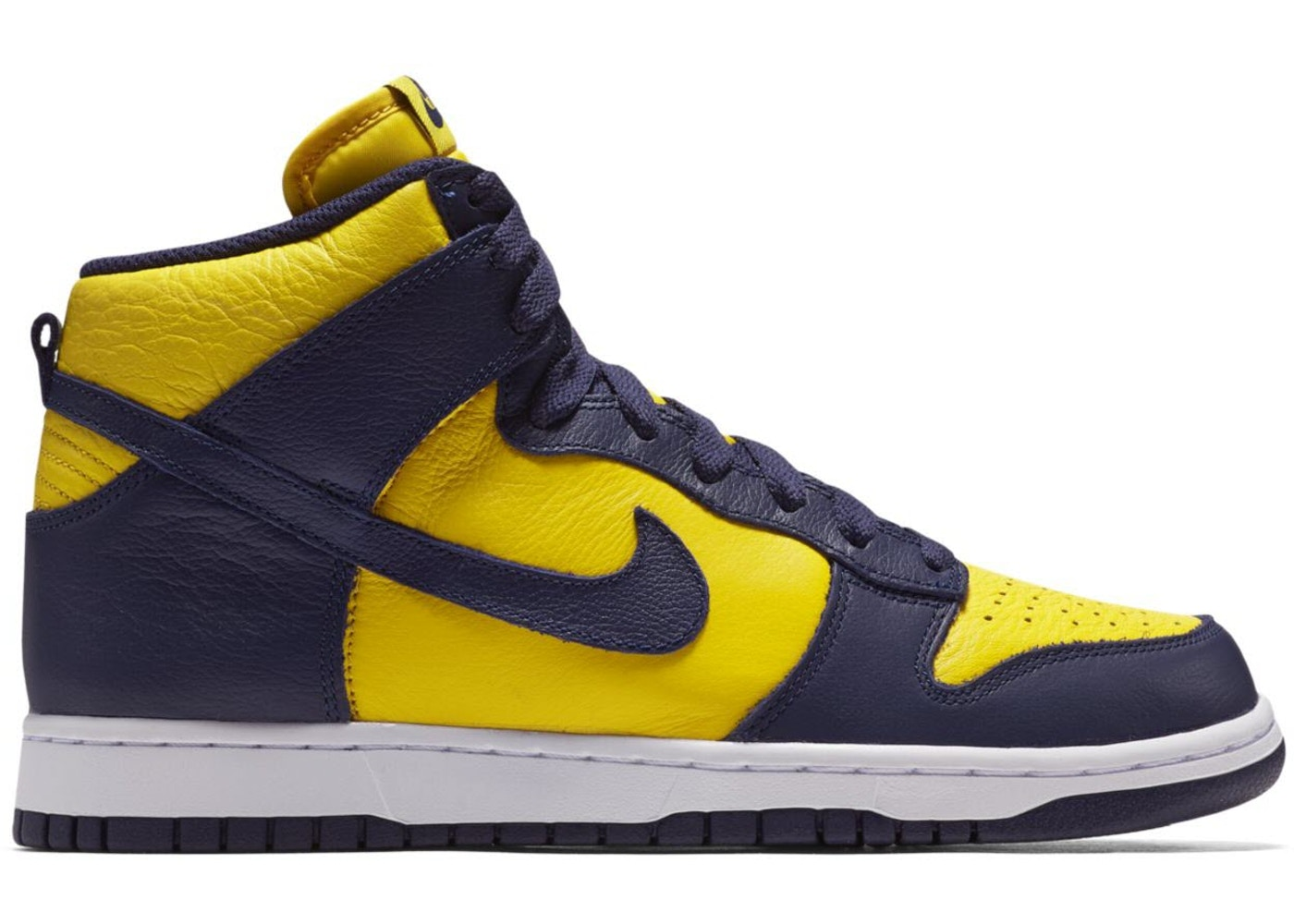 timeless design 72f03 4bddc Nike Dunk High Michigan - 850477-700