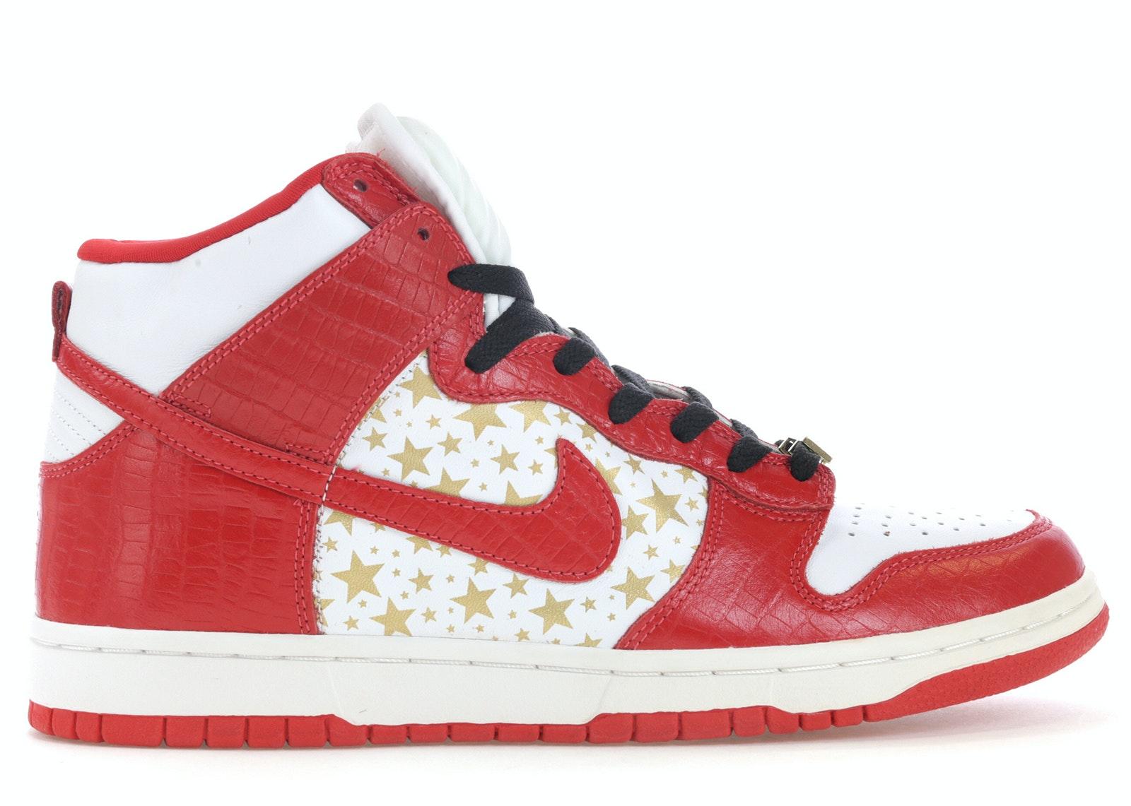 Dunk High Pro SB Supreme Red Stars