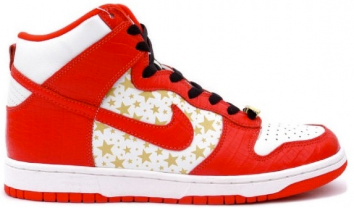 Dunk High Pro SB Supreme Red Stars