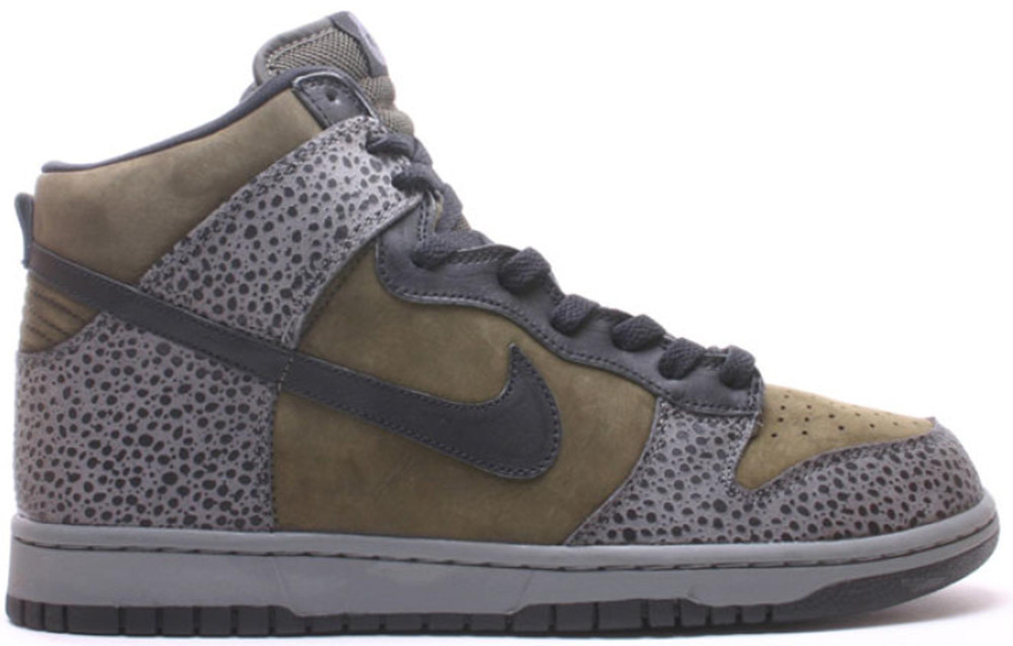 Nike Dunk High Safari Sable Green