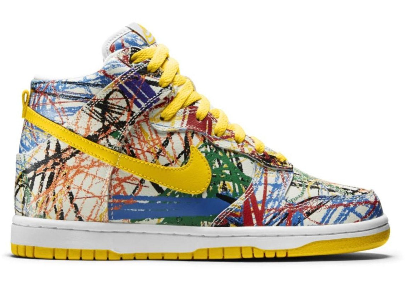 9ee09502fda6 Sell. or Ask. Size --. View All Bids. Nike Dunk High Scribble ...