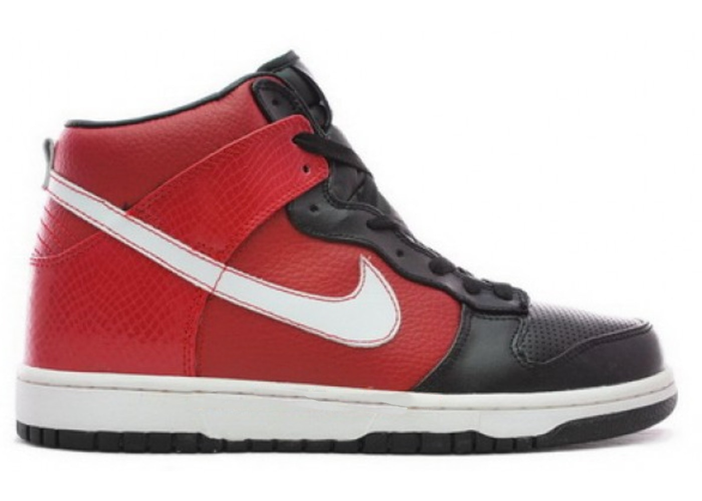 Nike Dunk High Supreme Varsity Red Sneakers (Varsity Red/White-Black)
