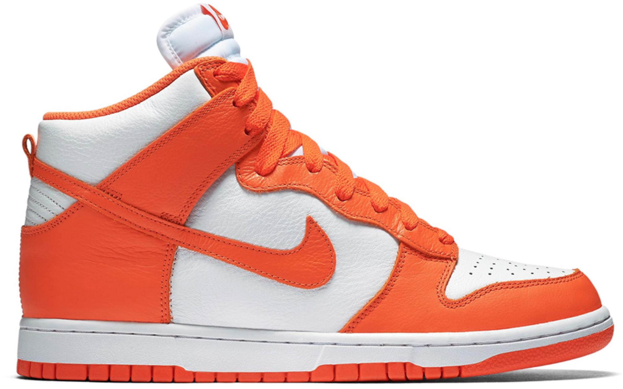 Nike Dunk High Syracuse - 850477-101