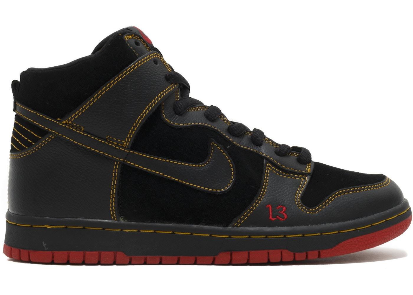 9863d4b0 Nike Dunk High Unlucky - 305050-001