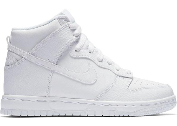 Nike Dunk High White 2017 (GS) 921797 100