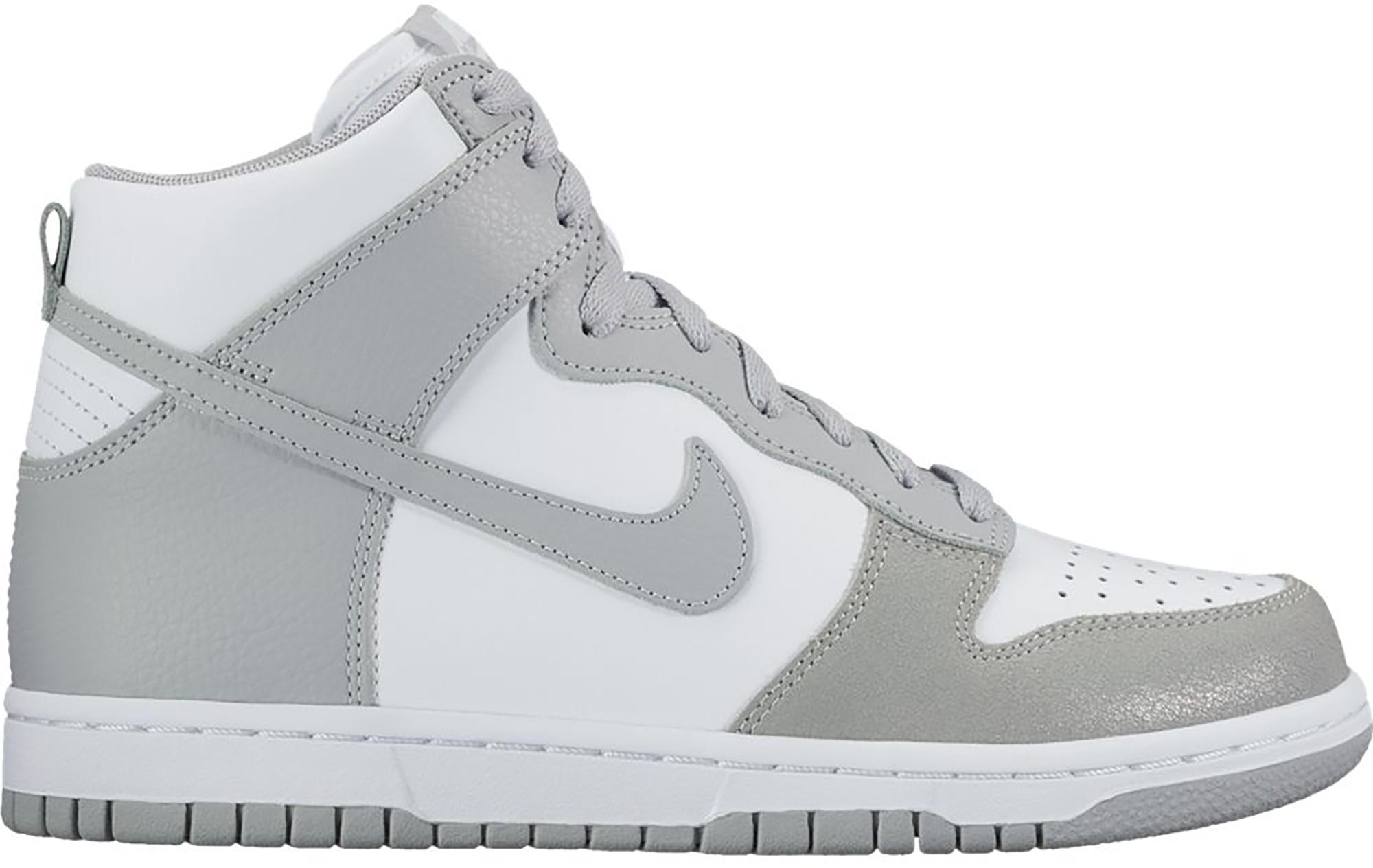 Nike Dunk High White Wolf Grey (W